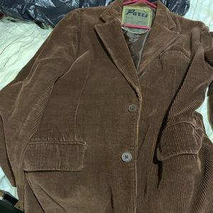 Brown blazer size large